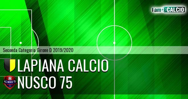 Lapiana Calcio - Nusco 75