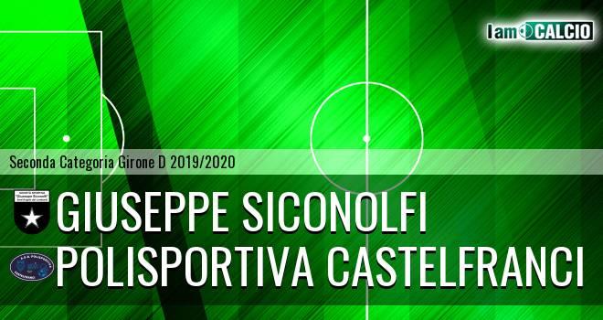 Giuseppe Siconolfi - Polisportiva Castelfranci