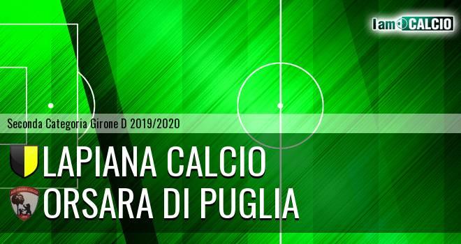 Lapiana Calcio - Orsara di Puglia