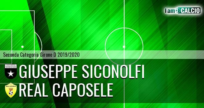 Giuseppe Siconolfi - Real Caposele