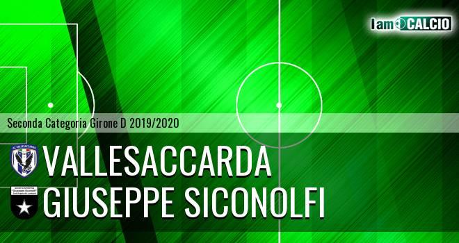 Vallesaccarda - Giuseppe Siconolfi