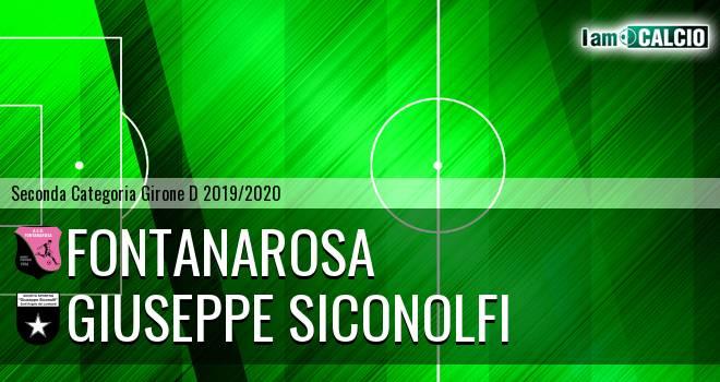 Fontanarosa - Giuseppe Siconolfi