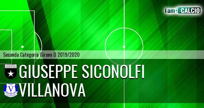Giuseppe Siconolfi - Villanova