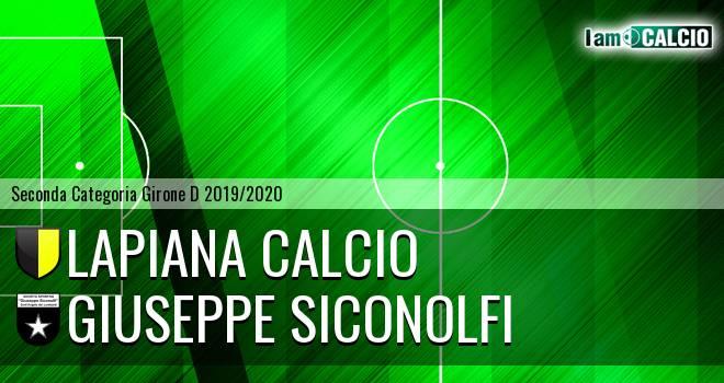 Lapiana Calcio - Giuseppe Siconolfi
