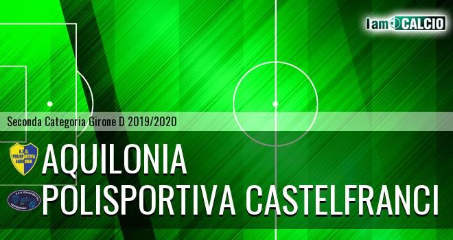 Aquilonia - Polisportiva Castelfranci