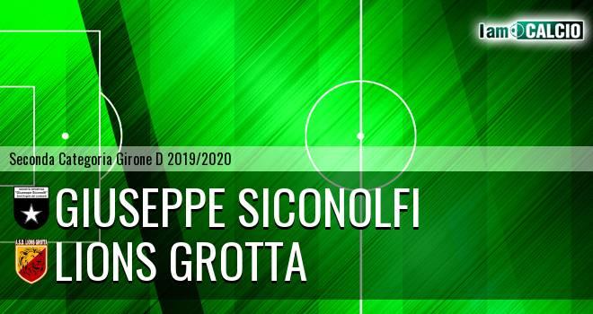 Giuseppe Siconolfi - Lions Grotta