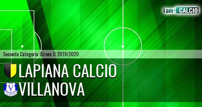 Lapiana Calcio - Villanova