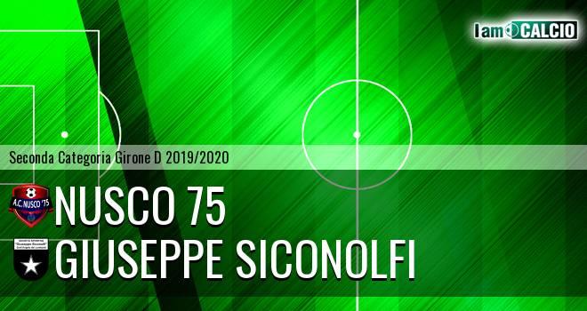 Nusco 75 - Giuseppe Siconolfi