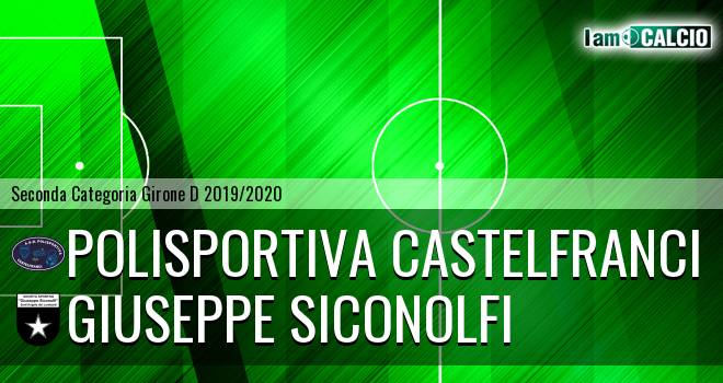 Polisportiva Castelfranci - Giuseppe Siconolfi