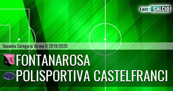 Fontanarosa - Polisportiva Castelfranci