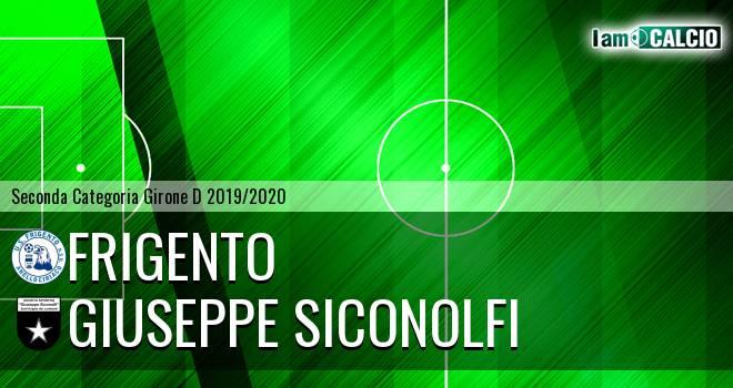 Frigento - Giuseppe Siconolfi