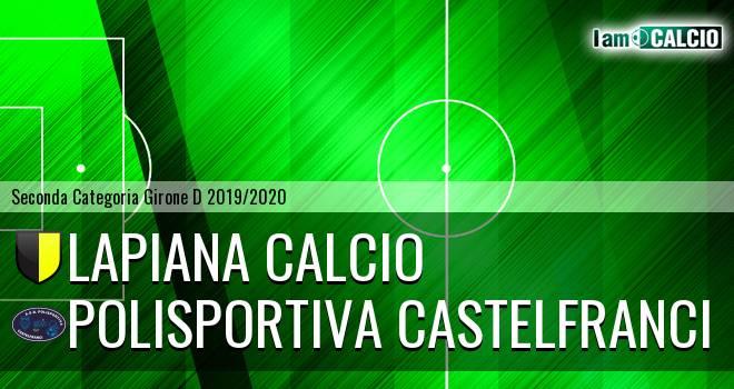 Lapiana Calcio - Polisportiva Castelfranci