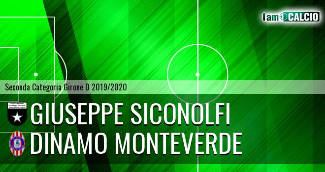 Giuseppe Siconolfi - Dinamo Monteverde