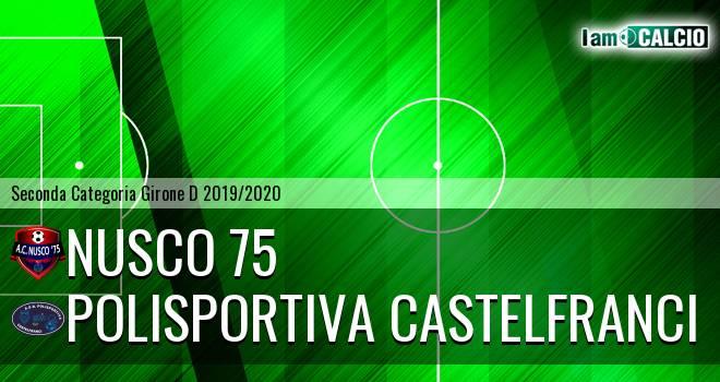 Nusco 75 - Polisportiva Castelfranci