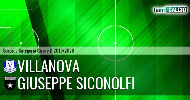 Villanova - Giuseppe Siconolfi