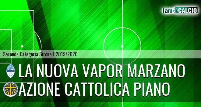 La Nuova Vapor Marzano - Azione Cattolica Piano
