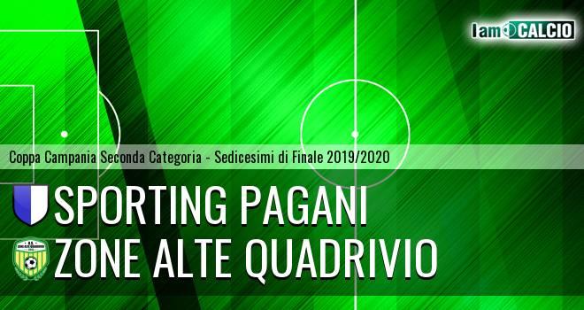 Sporting Pagani - Zone Alte Quadrivio