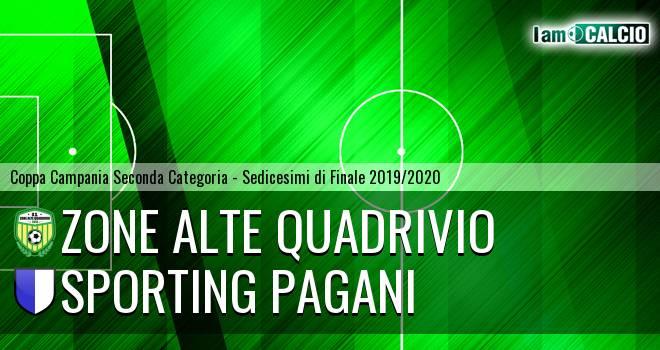 Zone Alte Quadrivio - Sporting Pagani