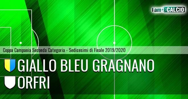 Giallo Bleu Gragnano - Orfri