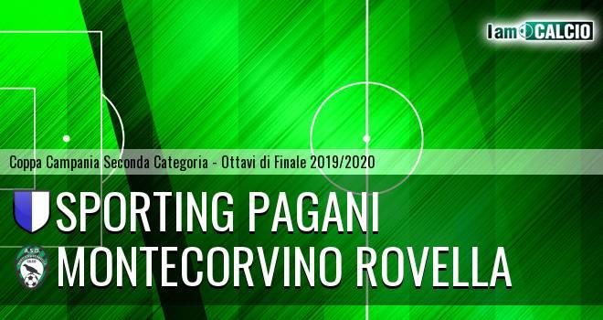 Sporting Pagani - Montecorvino Rovella