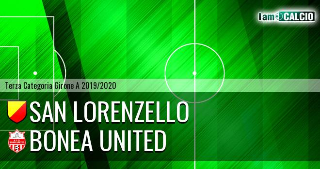 San Lorenzello - Bonea United