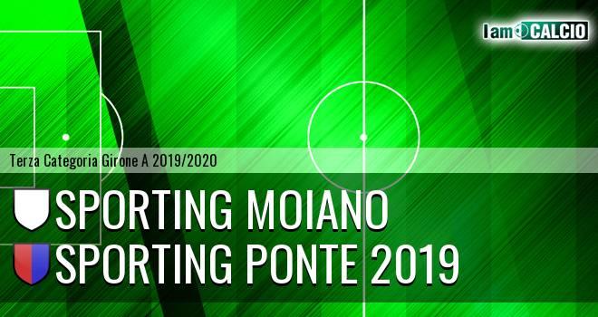 Sporting Moiano - Sporting Ponte 2019