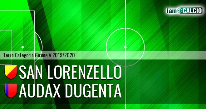 San Lorenzello - Audax Dugenta