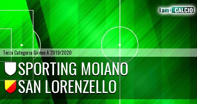 Sporting Moiano - San Lorenzello