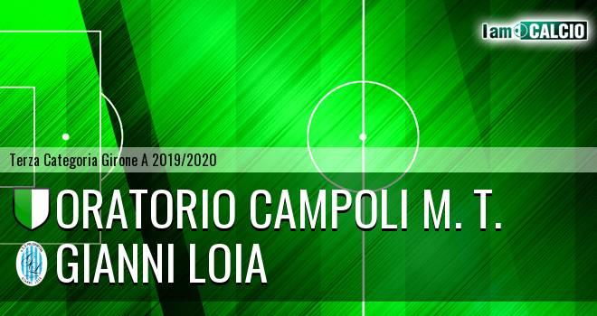 Oratorio Campoli M. T. - Gianni Loia