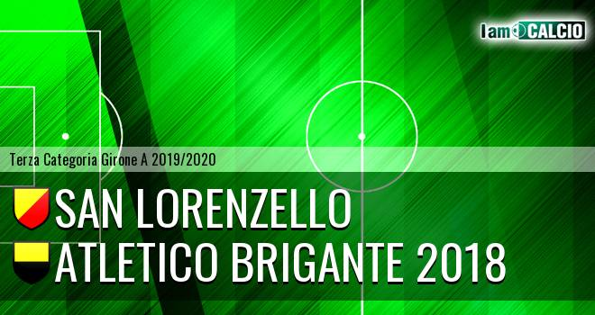 San Lorenzello - Atletico Brigante 2018