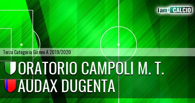 Oratorio Campoli M. T. - Audax Dugenta