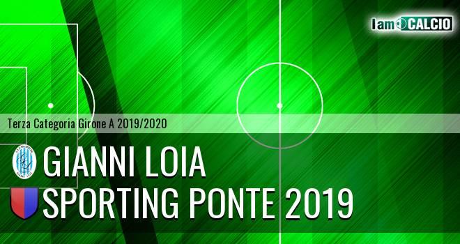 Gianni Loia - Sporting Ponte 2019