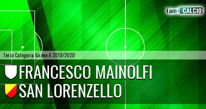 Francesco Mainolfi - San Lorenzello