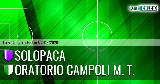 Solopaca - Oratorio Campoli M. T.