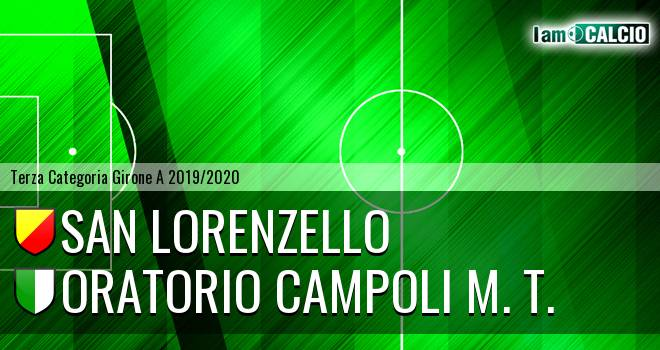 San Lorenzello - Oratorio Campoli M. T.