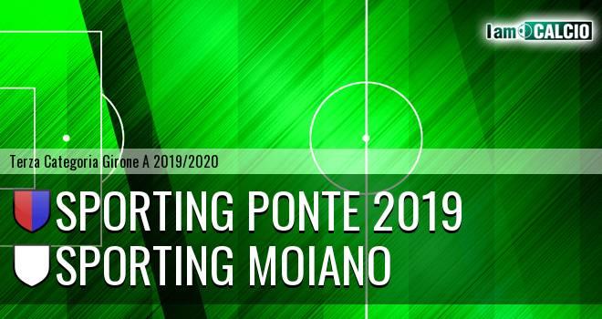 Sporting Ponte 2019 - Sporting Moiano