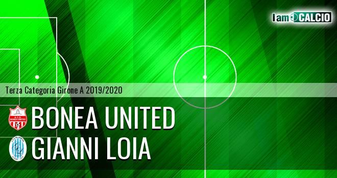 Bonea United - Gianni Loia