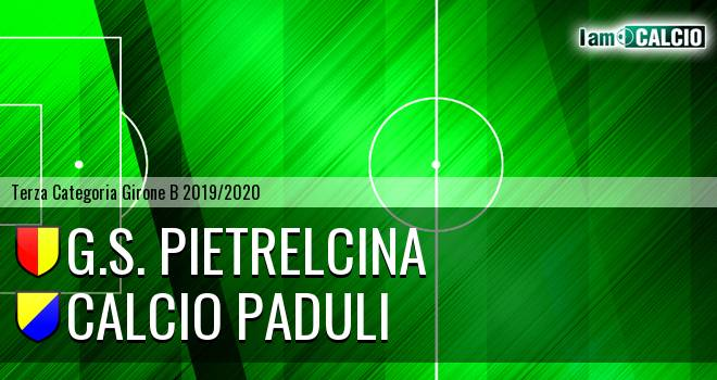 G.S. Pietrelcina - Calcio Paduli