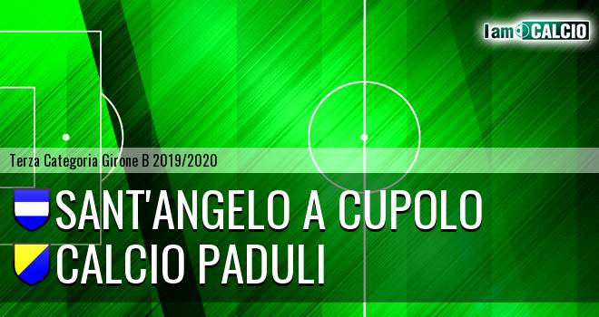 Sant'Angelo a Cupolo - Calcio Paduli
