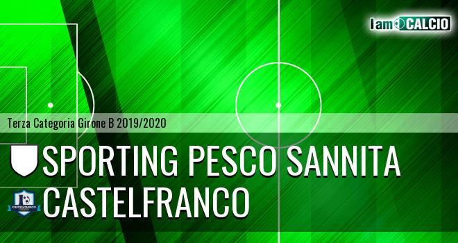 Sporting Pesco Sannita - Castelfranco