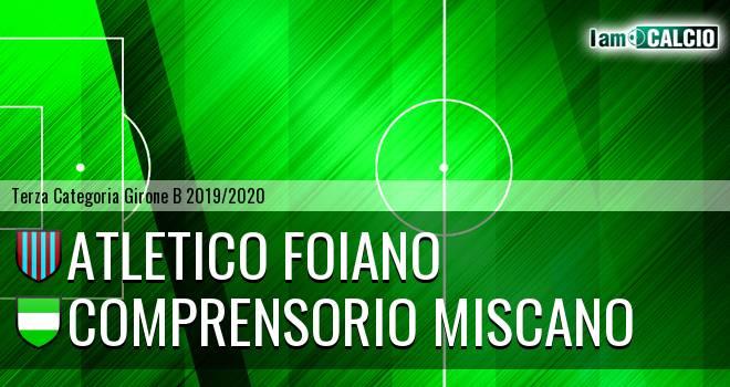 Atletico Foiano - Comprensorio Miscano