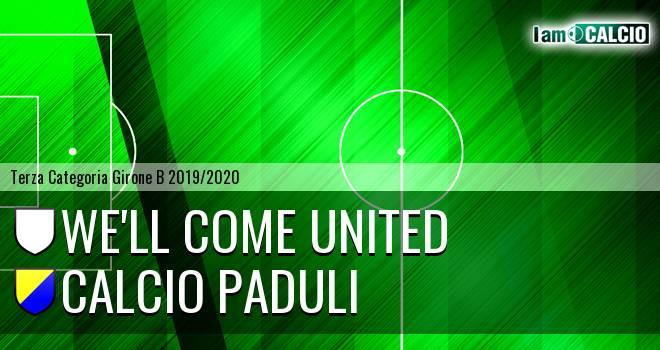 We'll Come United - Calcio Paduli