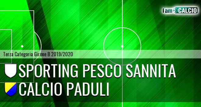 Sporting Pesco Sannita - Calcio Paduli
