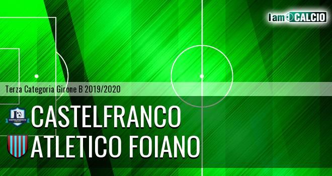 Castelfranco - Atletico Foiano