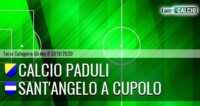 Calcio Paduli - Sant'Angelo a Cupolo