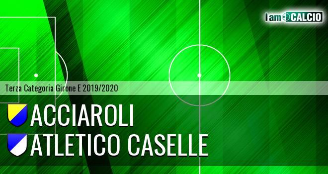 Acciaroli - Atletico Caselle