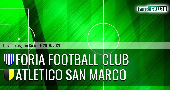 Foria Football Club - Atletico San Marco