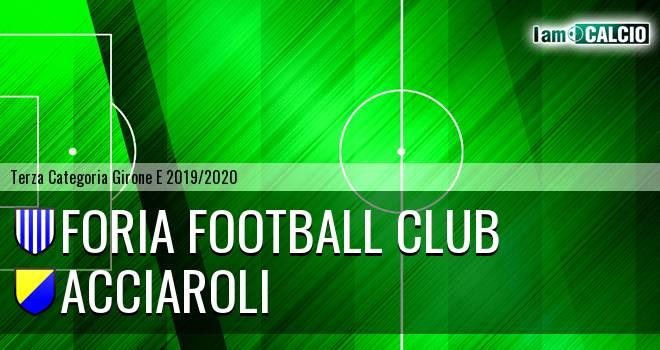 Foria Football Club - Acciaroli