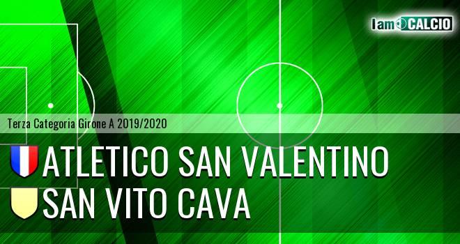 Atletico San Valentino - San Vito Cava