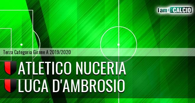 Atletico Nuceria - Luca D'Ambrosio